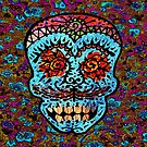 'Sweet Sugar Skull #3' by ellejayerose