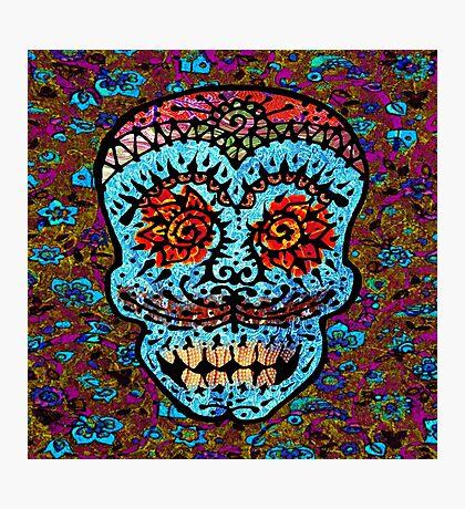 'Sweet Sugar Skull #3' Photographic Print