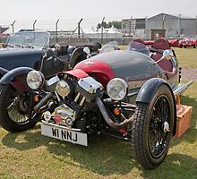 Morgan  Tricycle  2012 1983 by Keith Larby