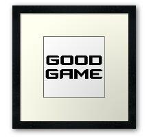 Good Game - CS:GO Framed Print