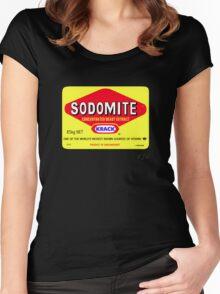 SODOMITE Clothing, Cards, Device Cases, Tote Bags & Home Decor Women's Fitted Scoop T-Shirt