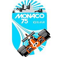 Monaco Grand Prix Poster Photographic Print