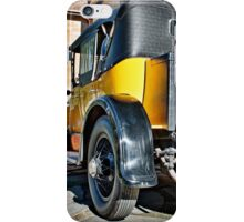Gold Cadillac at Carrick Hill on a Duvet Cover iPhone Case/Skin