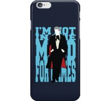 Quotable Who - Third Doctor iPhone Case/Skin