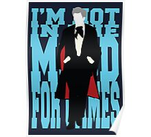 Quotable Who - Third Doctor Poster