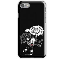 dead deer- PUNK ROCK black variant  iPhone Case/Skin