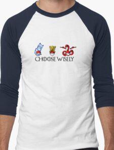 Choose Wisely Men's Baseball ¾ T-Shirt
