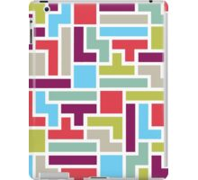 Tetris with pop colors iPad Case/Skin