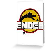 Ender Greeting Card