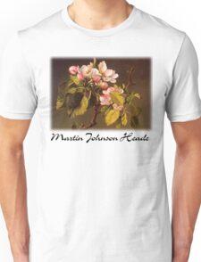 Martin Johnson Heade - Apple Blossoms Unisex T-Shirt