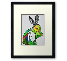 Rabbit's Hive Framed Print