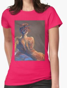 Red Head  Womens Fitted T-Shirt