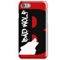 B is for Bad Wolf iPhone Case/Skin