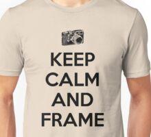 Keep calm and frame Unisex T-Shirt