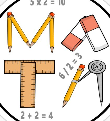 Mathematical Tools of the Trade Sticker