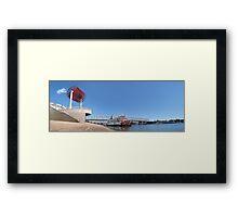 Cincinnati Riverfront  Framed Print