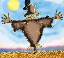 The Scarecrow version 2 by Grant Wilson
