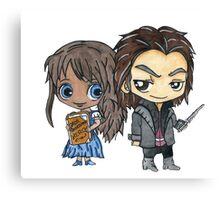 Rumbelle Manga Love Canvas Print