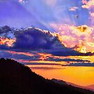 SUNSET,MORTON OVERLOOK by Chuck Wickham