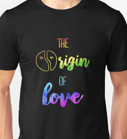 The Origin of Love | Hedwig and the Angry Inch Unisex T-Shirt