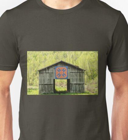 Kentucky Barn Quilt - Happy Hunting Ground Unisex T-Shirt
