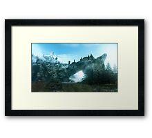 Solitude in Skyrim Framed Print