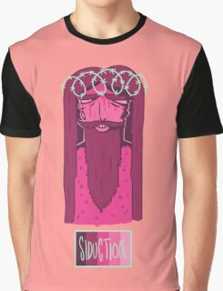 Barbwire Jesus - Siduction Graphic T-Shirt