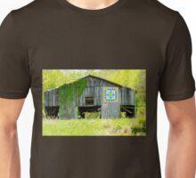 Kentucky Barn Quilt - Thunder and Lightening Unisex T-Shirt