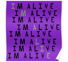 I'm Alive Poster