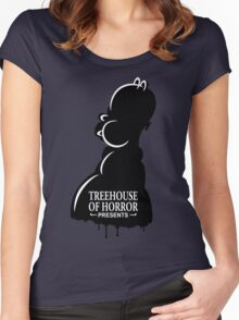 Treehouse Of Horror Women's Fitted Scoop T-Shirt
