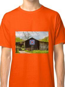 Kentucky Barn Quilt - Carpenters Wheel Classic T-Shirt