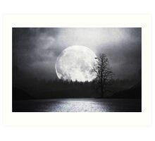 When Night Is Falling Art Print