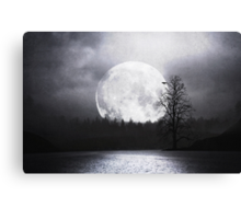 When Night Is Falling Canvas Print