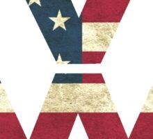 Volkswagen American Flag Sticker