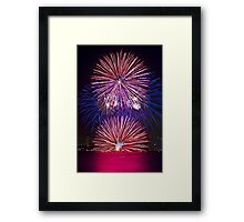 Rising Sun | New Years Eve | Sydney Harbour Framed Print