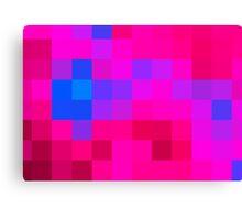 Pinkblue romance Canvas Print