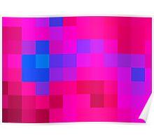 Pinkblue romance Poster