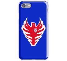 Owen Hart wrestling blue blazer logo iPhone Case/Skin