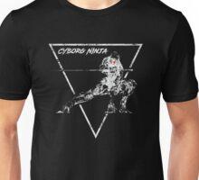 Cyborg Ninja Vintage Emblem Unisex T-Shirt