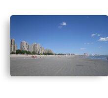 Revere Beachfront Canvas Print
