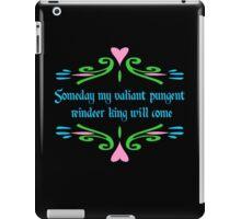 Valiant Pungent Reindeer King iPad Case/Skin