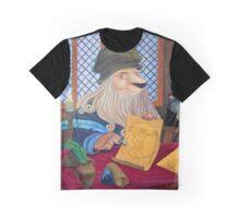 Lionnardo da Vinci Graphic T-Shirt