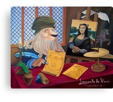 Lionnardo da Vinci Canvas Print