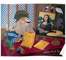 Lionnardo da Vinci Poster