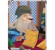 Lionnardo da Vinci iPad Case/Skin