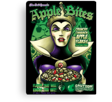 The Evil Queen's Apple Bites Canvas Print