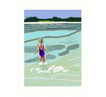 WHEAT ISLAND BLAIR Art Print
