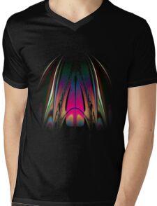 Aminais Mens V-Neck T-Shirt