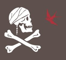 The Flag of Captain Jack Sparrow One Piece - Short Sleeve