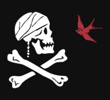 The Flag of Captain Jack Sparrow Kids Tee